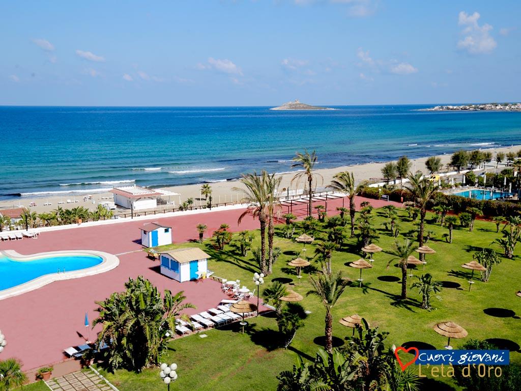 Saracen Sendes Resort - giardino sul mare