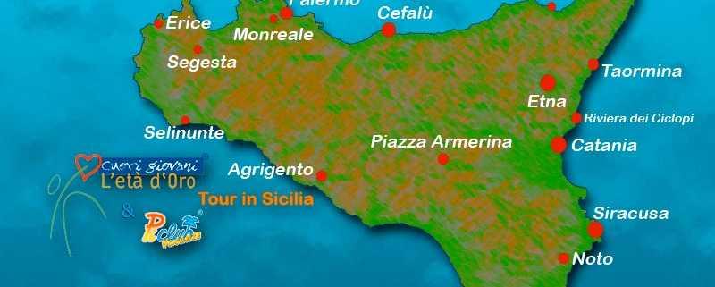Tour classico della Sicilia - Cuori Giovani