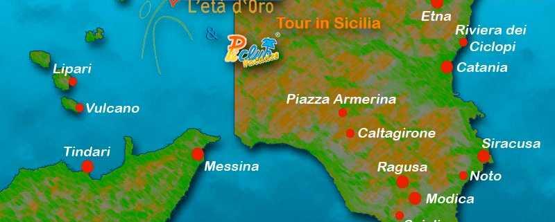 Tour della Sicilia orientale - Cuori Giovani